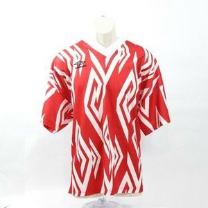 Umbro Mens XL Vtg 1980s Logo Jersey USA